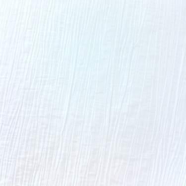 """Crinkle Taffeta White 120"""" Round"""