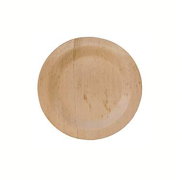 "Bamboo Round Plate 5"" (8 Pack)"