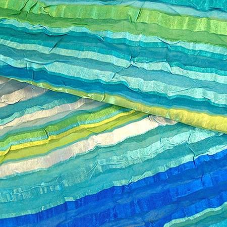 """Stripe Water 81"""" Square"""