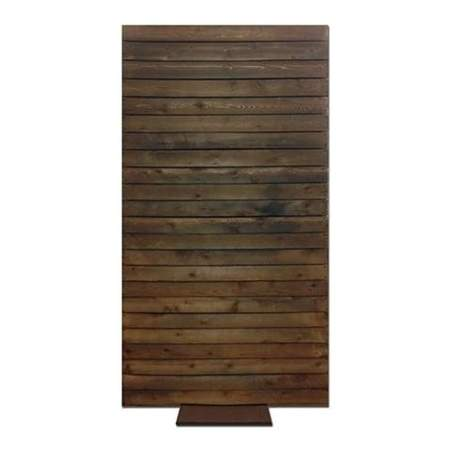 Screen Rustic Wood 2-Sided 4' X  8'