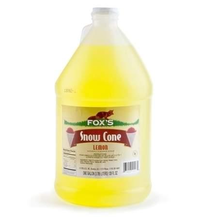 Sno-Cone Syrup Lemon 1gal