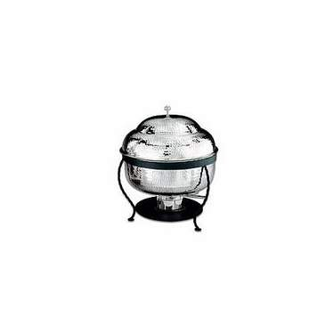 Round Hammered Silver Chafer 8qt