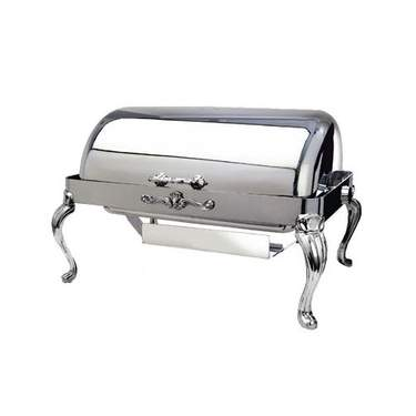 Silver Rolltop Chafer 8qt