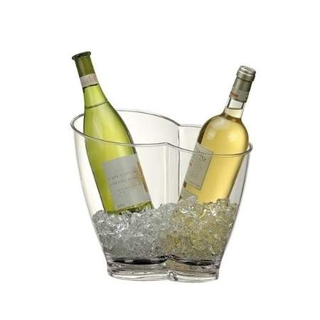 Acrylic Duo Wine Cooler