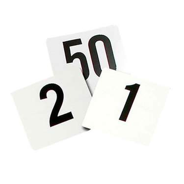 Table Numbers (51-75)