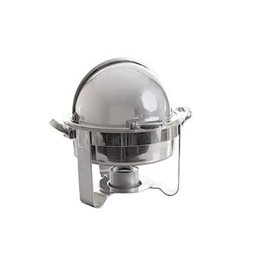 Round Rolltop Chafer 4qt