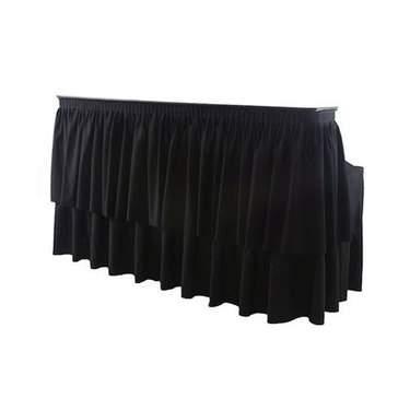 Table Kit Bar w/ Black Skirt