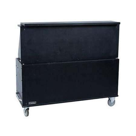 Black Plastic Folding Bar