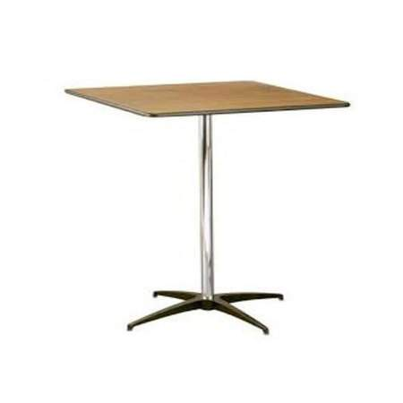 "Table Square Pedestal 30"" X 42"""