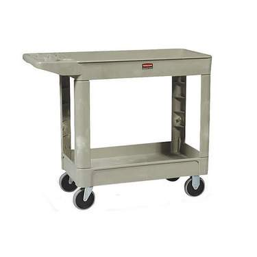 Tan Rubbermaid Cart