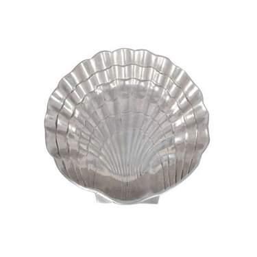 """Silver Shell Tray 21"""""""