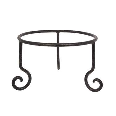 "Square Iron Stand 10""H"