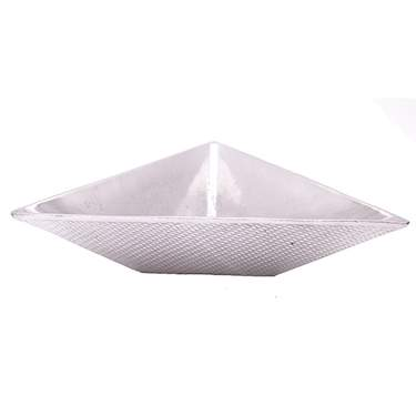 Triangle Deep Aluminum Bowl 18""