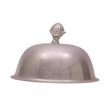 Silver Cloche Plate Cover