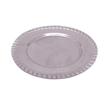 Round Pewter Brie Tray 12""