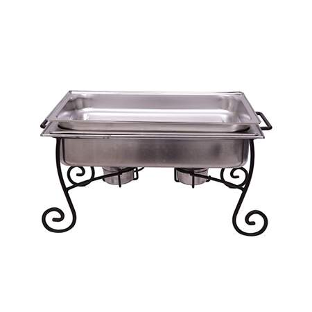 Rectangular Chafer W/Iron Frame 8qt