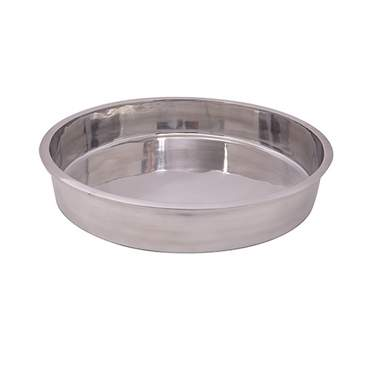 Straight-Sided Aluminum Bowl 3""