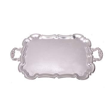 "Silver Tray w/ Handles 23"""
