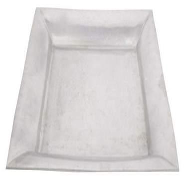 """Square Aluminum Tray 19"""""""