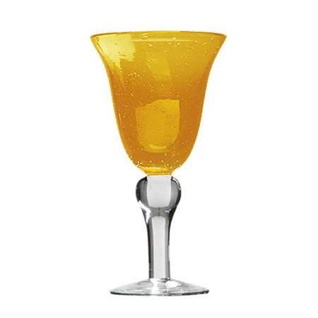 Iris Bubble Water Goblet