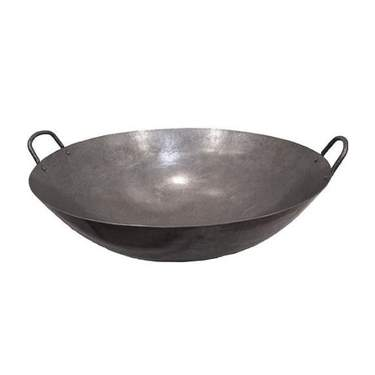 Steel Handle Wok 20""