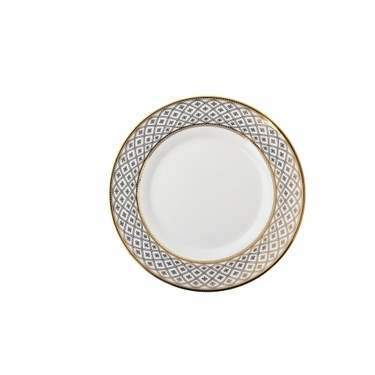 Gold Marcella Plate 8""