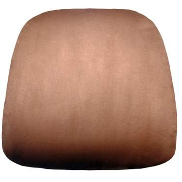 Chiavari Cushion Chestnut Suede