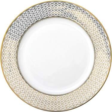 "Gold Marcella Plate 10.75"""