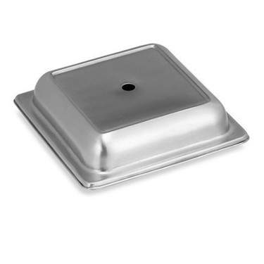 Stainless Steel Plate Cover 10""