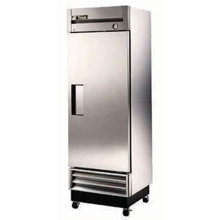 Single Door Stainless Steel Refrigerator w/Pans