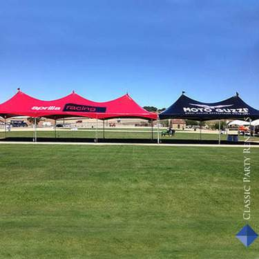 Festival Tent With Custom Graphics