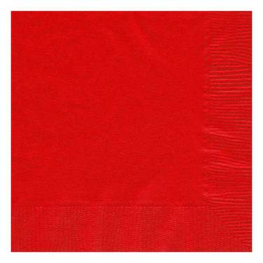 Apple Red 2-Ply Cocktail Paper Napkin (125 Pack)