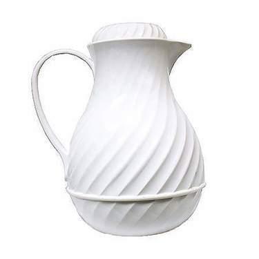 White Coffee Thermal Server 42oz