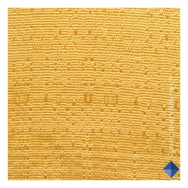 Drape Banjo Gold 3'H X  4'W Panel