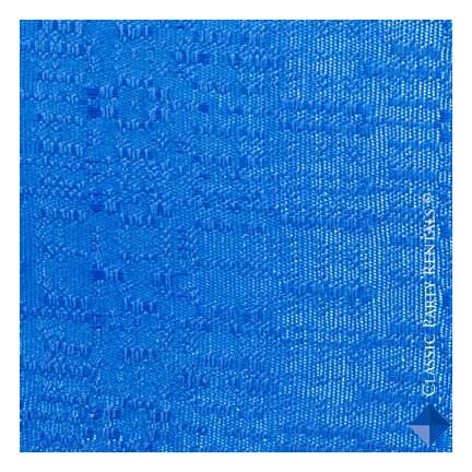 Drape Banjo Blue 8'H X 4'W Panel