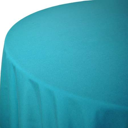 "Poly Teal 108"" Round"