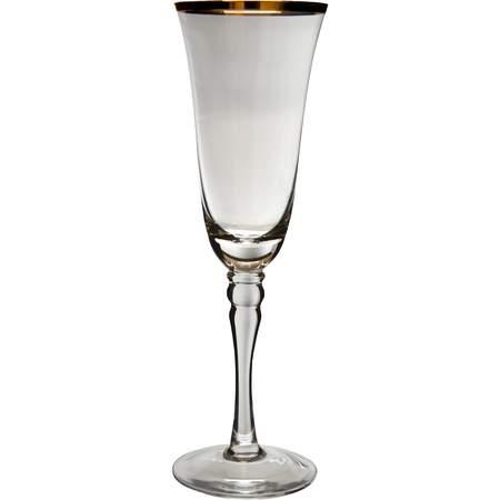 Venice Gold Champagne Flute