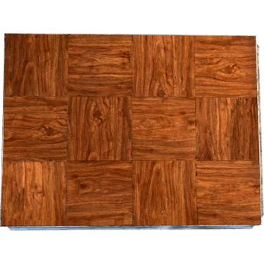 Wood Grain Vinyl Dance Floor 06'x12'