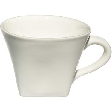 White Porcelain Square Cup 5.5oz