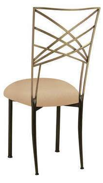 Fanfare Chair - Two Tone Gold