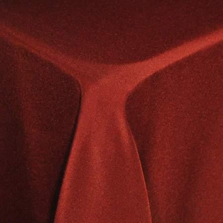 "Poly Burgundy Skirt 7'W X 30""H"
