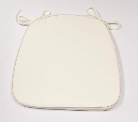 Chiavari Cushion Ivory Tie-On