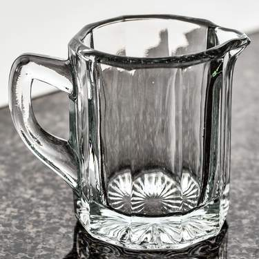 Glass Panel Creamer 5oz