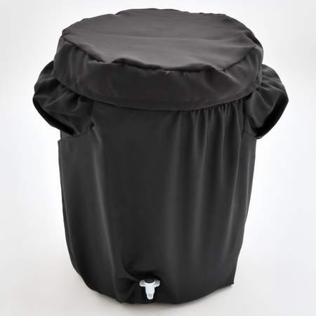 Poly Black Plastic Beverage Cover 10gal