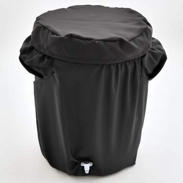 Poly Black Plastic Beverage Cover 10gal