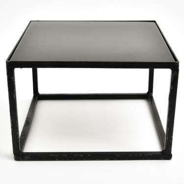 "Metal Cube Buffet Riser 8"""