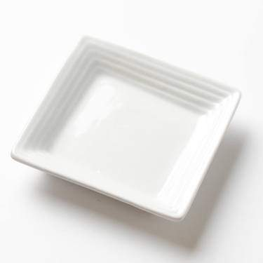 White Square Dipping Dish