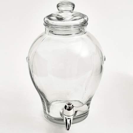 Lovely Dispenser 2.5 gal Glass Beverage Ginger Jar Rentals | Bar and  CG97