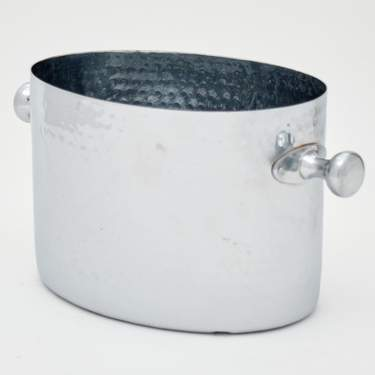 Stainless Steel Hammered Champagne Bucket