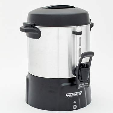 Coffee Maker, Aluminum 40 Cup